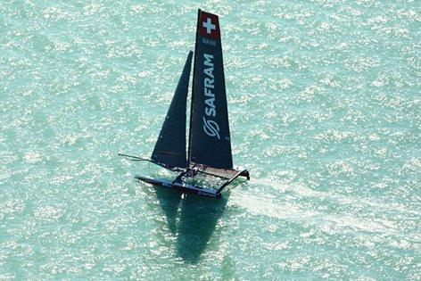 La bateau suisse Safram termine cinquième en Hongrie