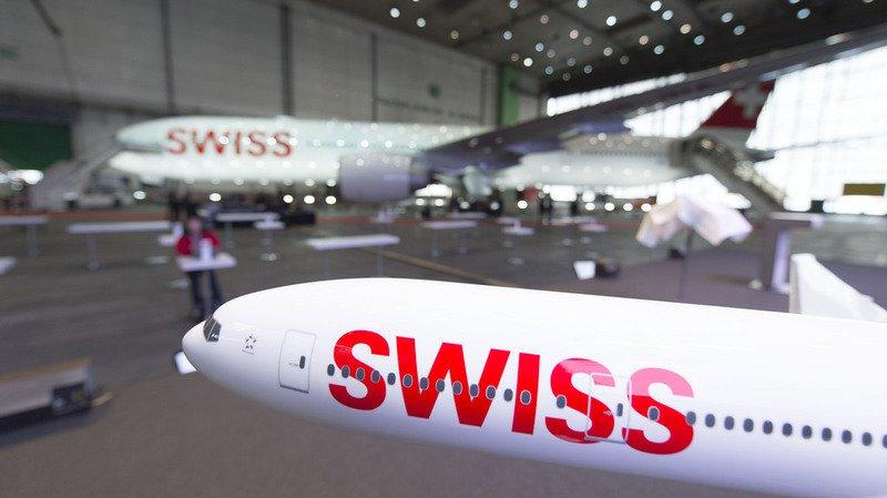 Transport aérien: Swiss enregistre une hausse de plus d'un tiers de son bénéfice
