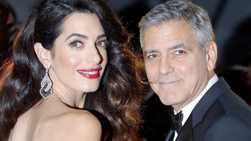 Les Clooney rappellent que 500'000 enfants syriens sont réfugiés au Liban.