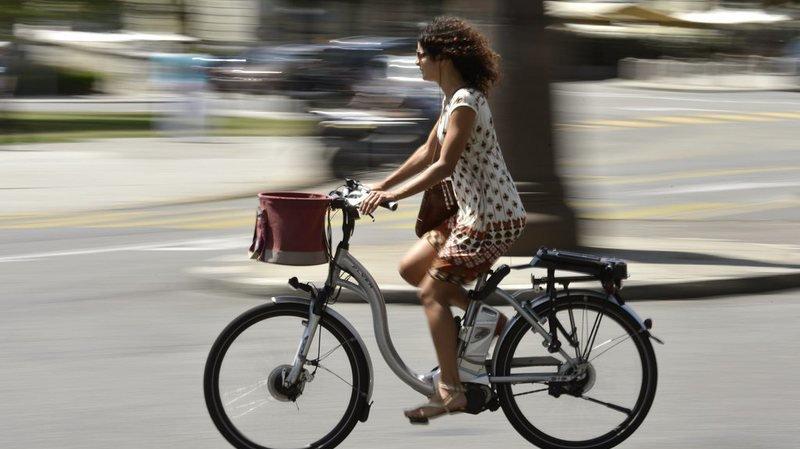 Un cycliste motorisé sur six a déjà été victime d'un accident. (illustration)