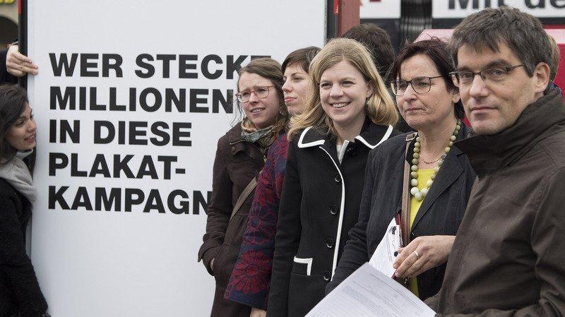Initiative populaire: vers une votation sur la transparence du financement des partis politiques
