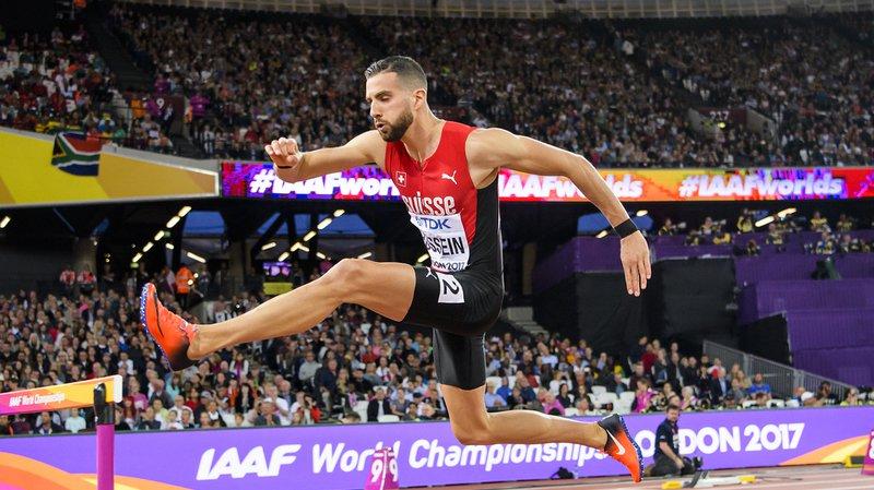 Mondiaux d'athlétisme de Londres: Kariem Hussein termine 8e de la finale du 400 m haies