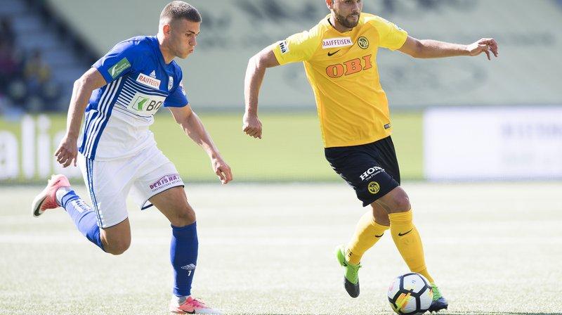 Benjamin Kololli et le Lausanne-Sport tenteront de retrouver l'élite.