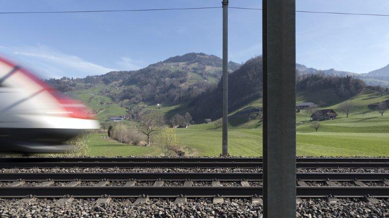Trafic ferroviaire: la Confédération veut investir 11,5 milliards d'ici 2035 pour désengorger le rail