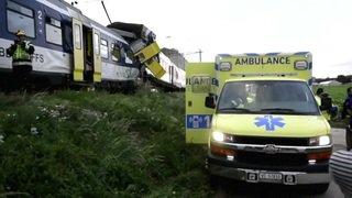 Vaud: ouverture du procès du mécanicien à l'origine de l'accident de train de Granges-Marnand en 2013