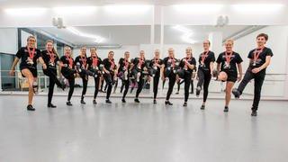 Une équipe nyonnaise championne suisse de claquettes