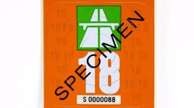 Circulation routière: la vignette 2018, de couleur orange, sera en vente dès vendredi