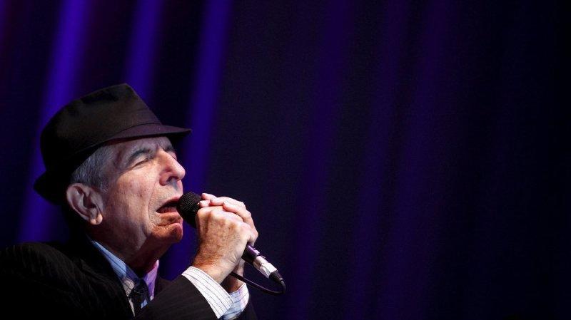 Montréal: un an après sa disparition, la ville natale de Leonard Cohen lui rend un vibrant hommage