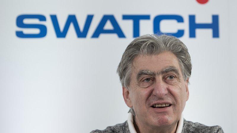 """Horlogerie: Nick Hayek, le patron de Swatch Group, annonce une reprise """"massive"""""""