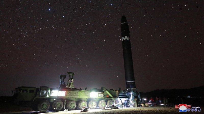 Corée du Nord: selon Séoul, le nouveau missile de Pyongyang peut voler sur une distance de 13'000 kilomètres