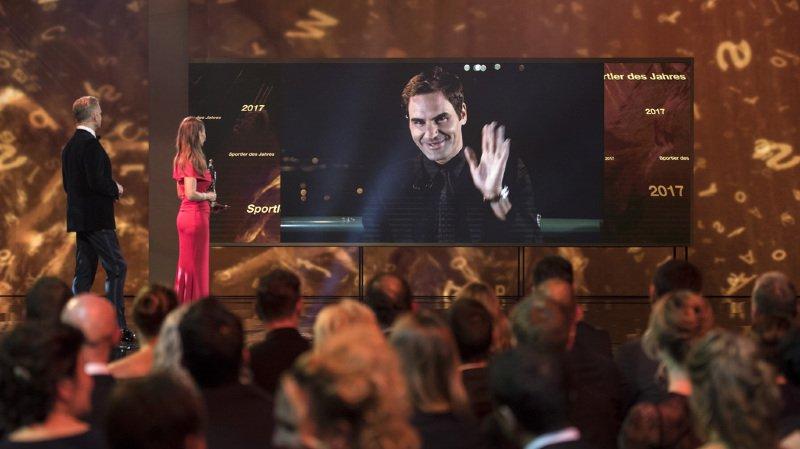 Crédit Suisse Sports Awards: Roger Federer, Wendy Holdener et Séverin Lüthi récompensés