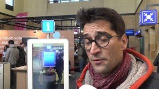 Genève aéroport a présenté Robbi, un robot qui renseigne les passagers