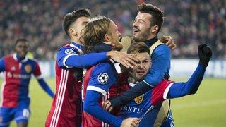 Ligue des Champions: le match entre FC Bâle et Manchester United