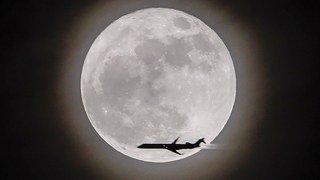 Plus proche, plus brillante, les images de la super lune
