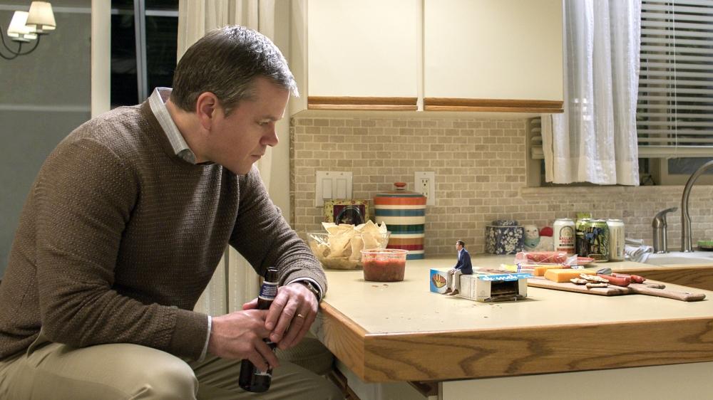 Paul (Matt Damon) est bien décidé à voir les choses en grand…