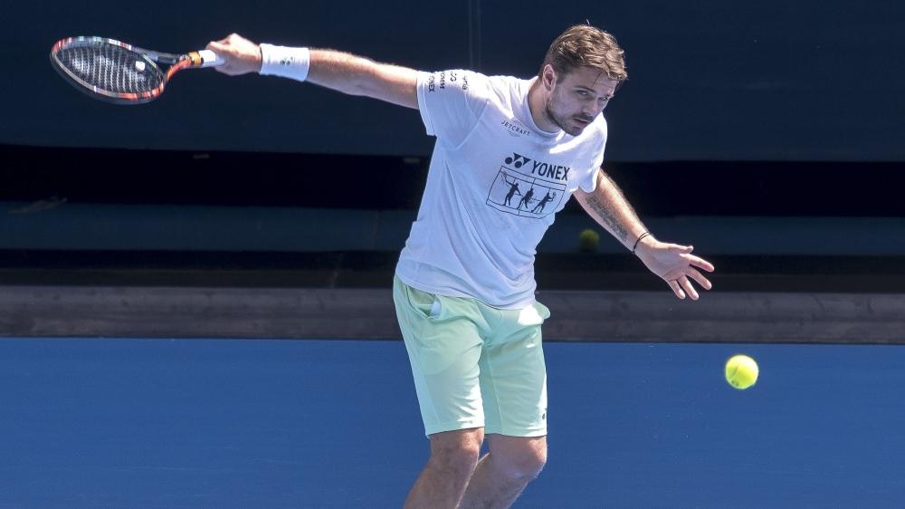 La participation de Stan Wawrinka à l'Open d'Australie qui commence le 10janvier reste pour l'heure incertaine.