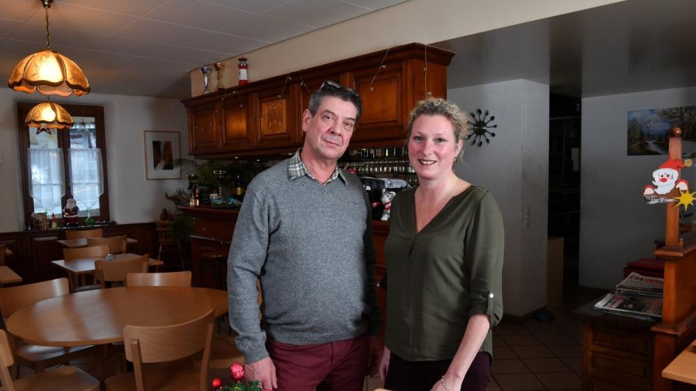 Alain Torrens et Sandra Lapalud aiment le contact avec la clientèle. Le couple sera à l'écoute des futurs habitués de l'auberge.