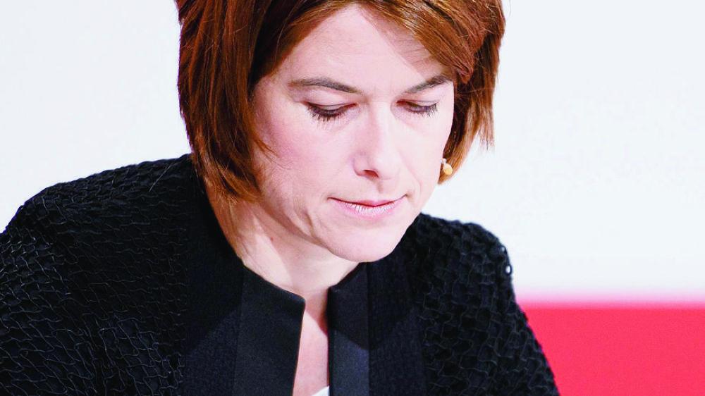 Petra Gössi a été obligée de clarifier sa position devant son groupe parlementaire.