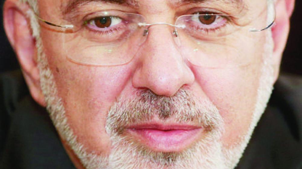 Le ministre iranien Javad Zarif était reçu à Bruxelles, hier.