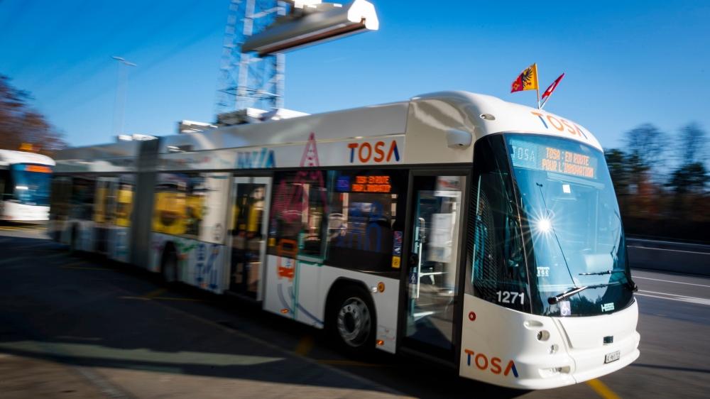 Le bus est en rade depuis son lancement.