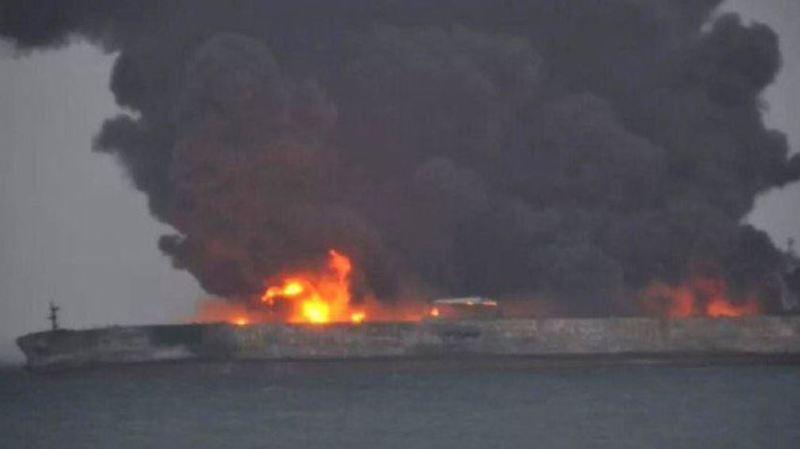 Chine: 32 disparus après la collision de deux navires