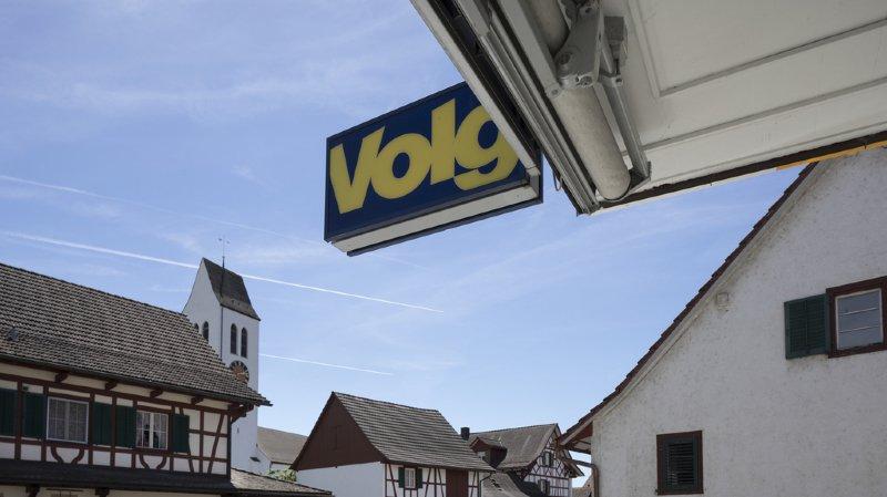 Le chiffre d'affaires moyen par magasin s'est élevé à 1,94 million de francs, précise le communiqué du détaillant Volg qui s'est étendu en Suisse romande ces dernières années. (illustration)