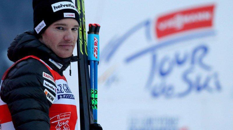 Ski nordique: Dario Cologna remporte le Tour de Ski pour la quatrième fois