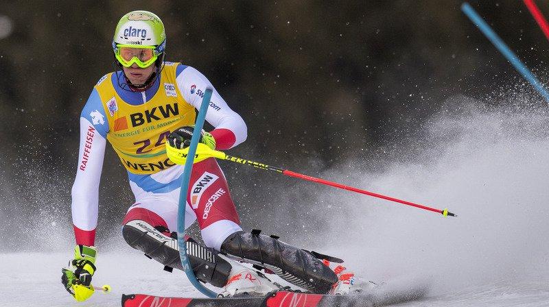 Ski alpin: Ramon Zenhäusern et Daniel Yule en embuscade après la 1ère manche du slalom de Wengen