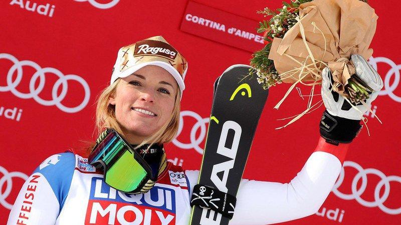 Ski alpin: Lara Gut s'impose sur le Super-G de Cortina
