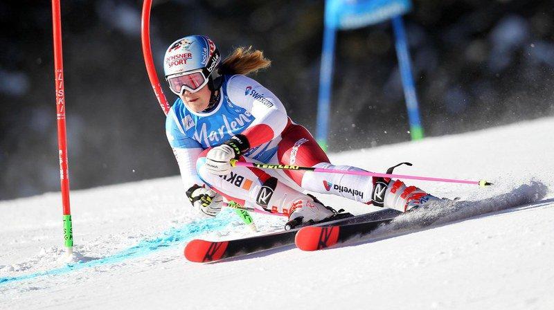 Ski alpin: Viktoria Rebensburg enlève le géant de Plan de Corones, Mélanie Meillard 9e