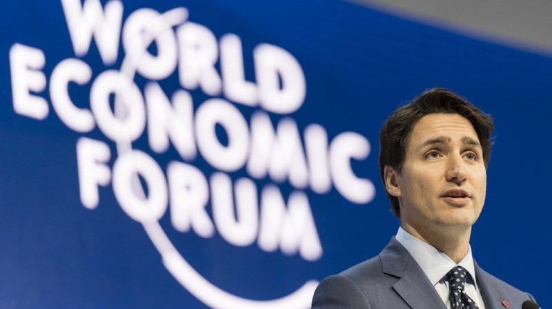 Justin Trudeau a affirmé au Forum économique mondial que la diversité était un moteur économique fort.