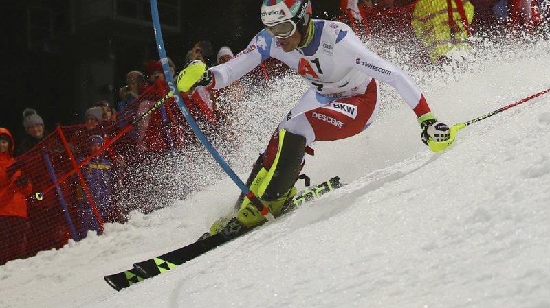 Meilleur Suisse et auteur de son premier podium à Kitzbühel dimanche (3e), Daniel Yule pointe à une très encourageante 6e place à 1''31.