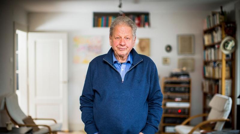 François Rochaix, ici dans sa maison de Mies, fourmille toujours de projets.