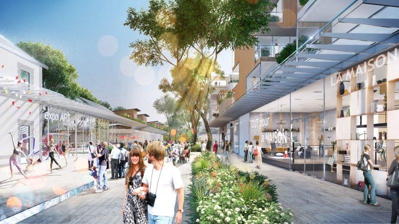 La mairie estime qu'augmenter l'offre commerciale est un plus pour les magasins déjà existants.