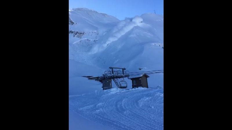 Haute-Savoie: un déclenchement d'avalanche fait le buzz