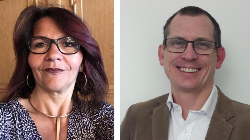 Corinne Besson et Yves Dalebroux sont les deux candidats déclarés à la Municipalité de Signy. Verdict le 4 mars.