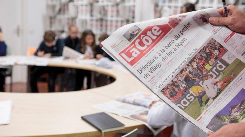 Face à la crise de la presse, «La Côte» fait front et entame une profonde réorganisation