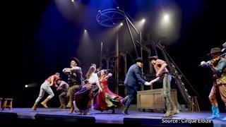 Le bonheur d'un Suisse qui tourne avec le Cirque Eloize
