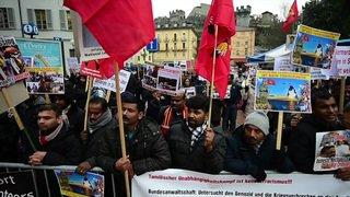 Manifestation tamoule à Bellinzone