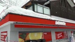 Valais: ambiance à Zermatt où les touristes sont bloqués par les intempéries