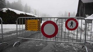 Vaud: la station des Diablerets en partie coupée du monde à cause de la neige