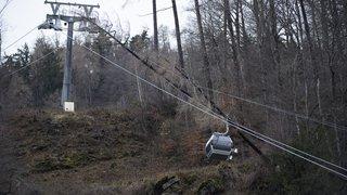 La tempête Eleanor a causé de nombreux dégâts à travers la Suisse