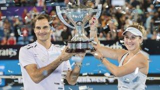Federer et Bencic font l'union sacrée