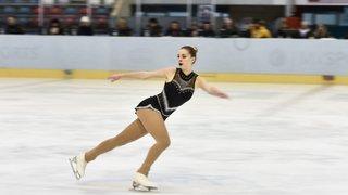 Lara Anderegg se pare de bronze
