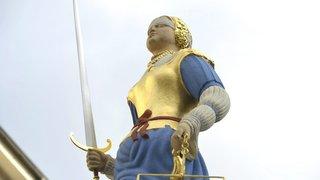 Lausanne: des antivols pour la statue de la Palud
