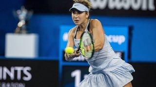Avant l'Open d'Australie, Belinda Bencic fait peur