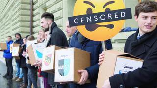 Non à la censure d'internet