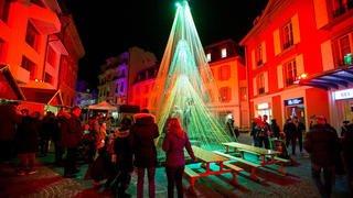 Le marché de Noël de Nyon en images