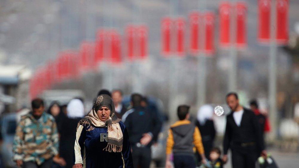 Des milliers de Syriens ont fui le pays pendant la guerre.