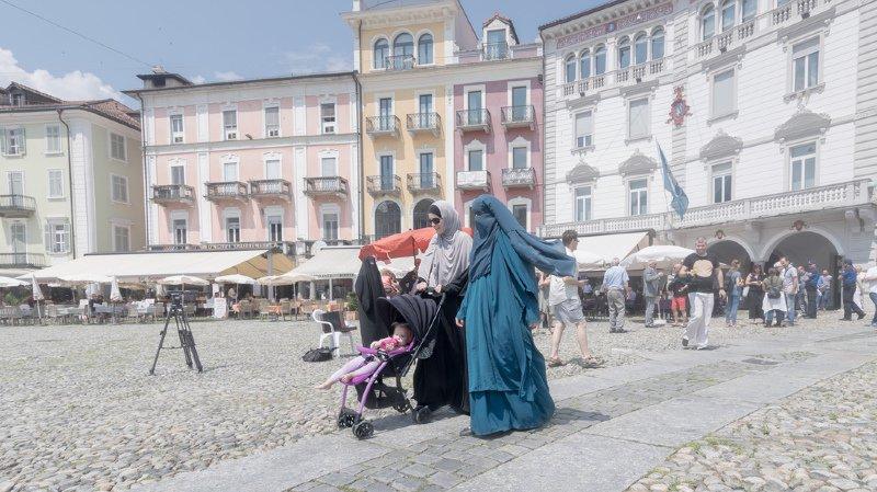 Seul le Tessin interdit le port de la burqa dans l'espace public.